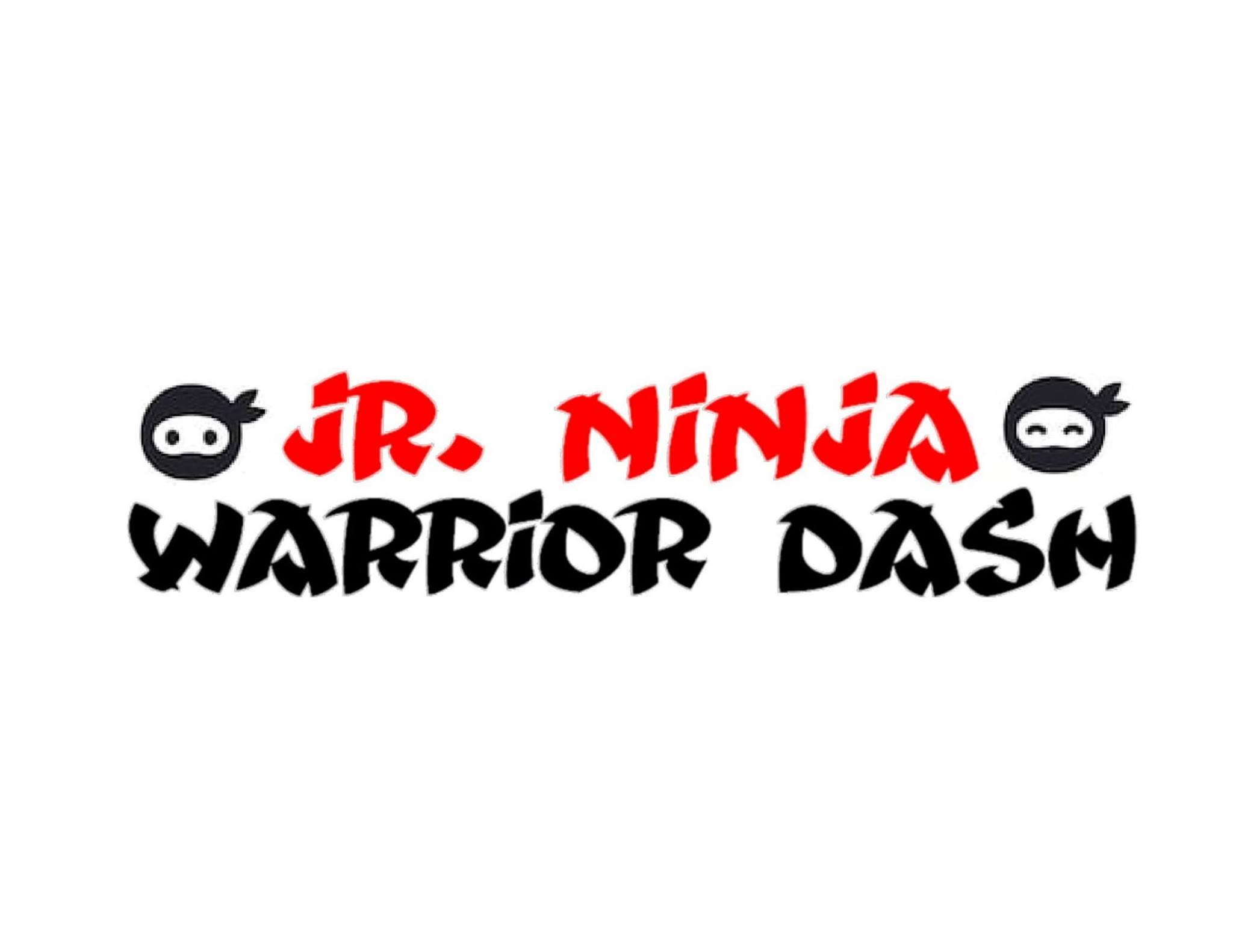 junior ninja warrior dash logo banner
