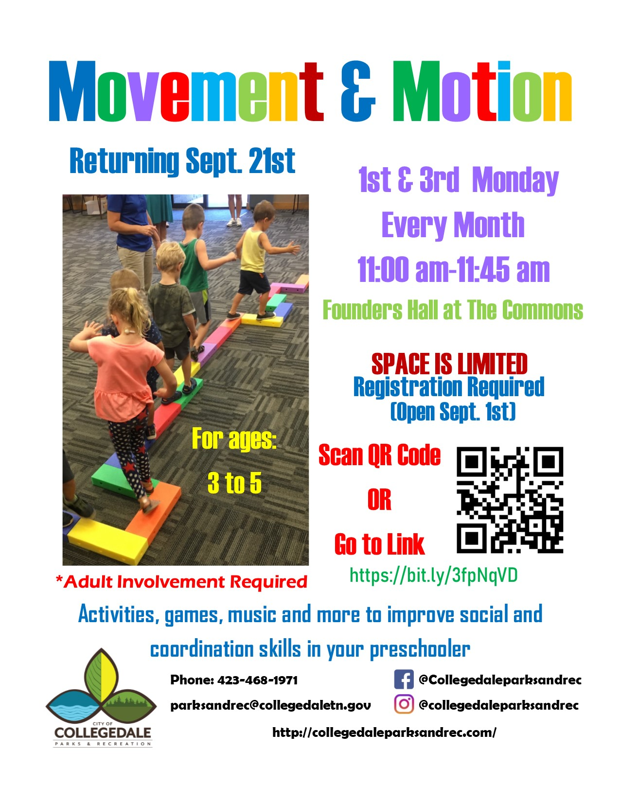Movement and Motion Flyer 2020
