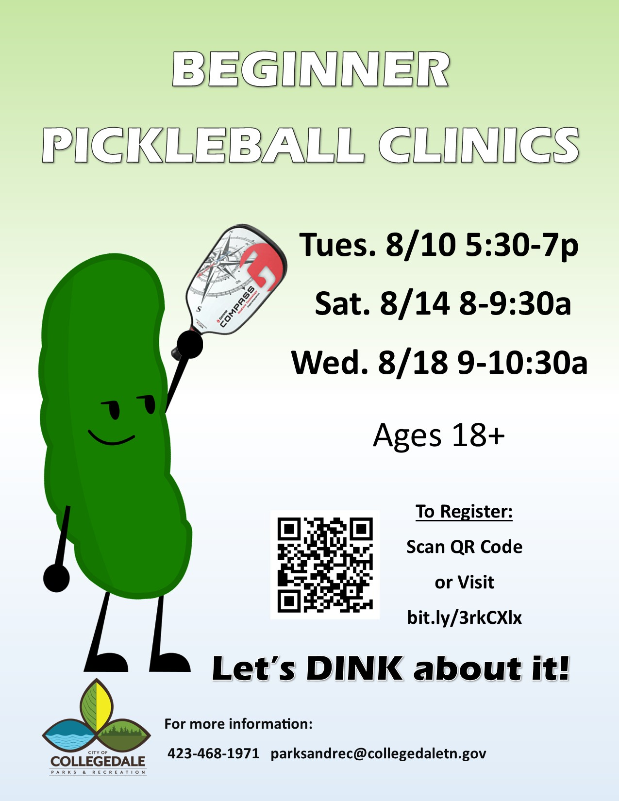 Pickleball Clinic Adults August 2021